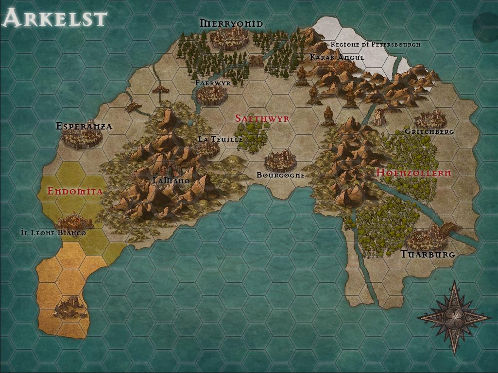 Mappa di Arkelst