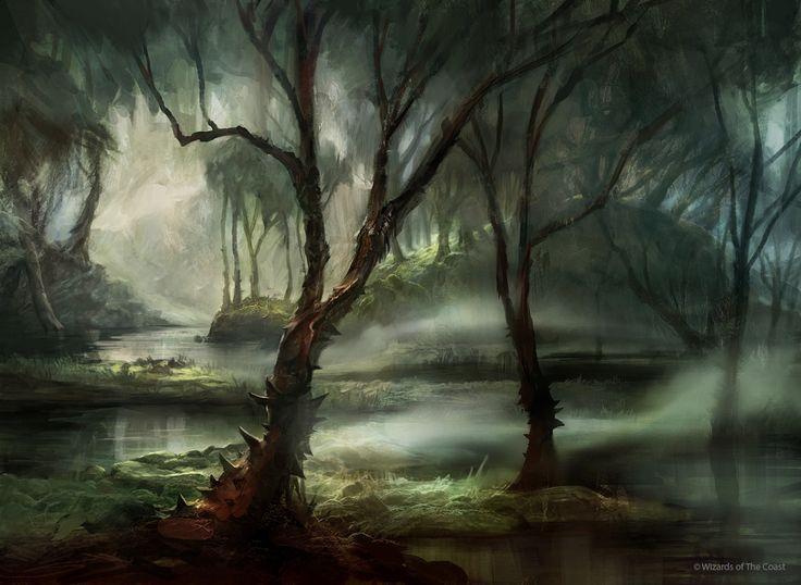 The Cursed Swamp