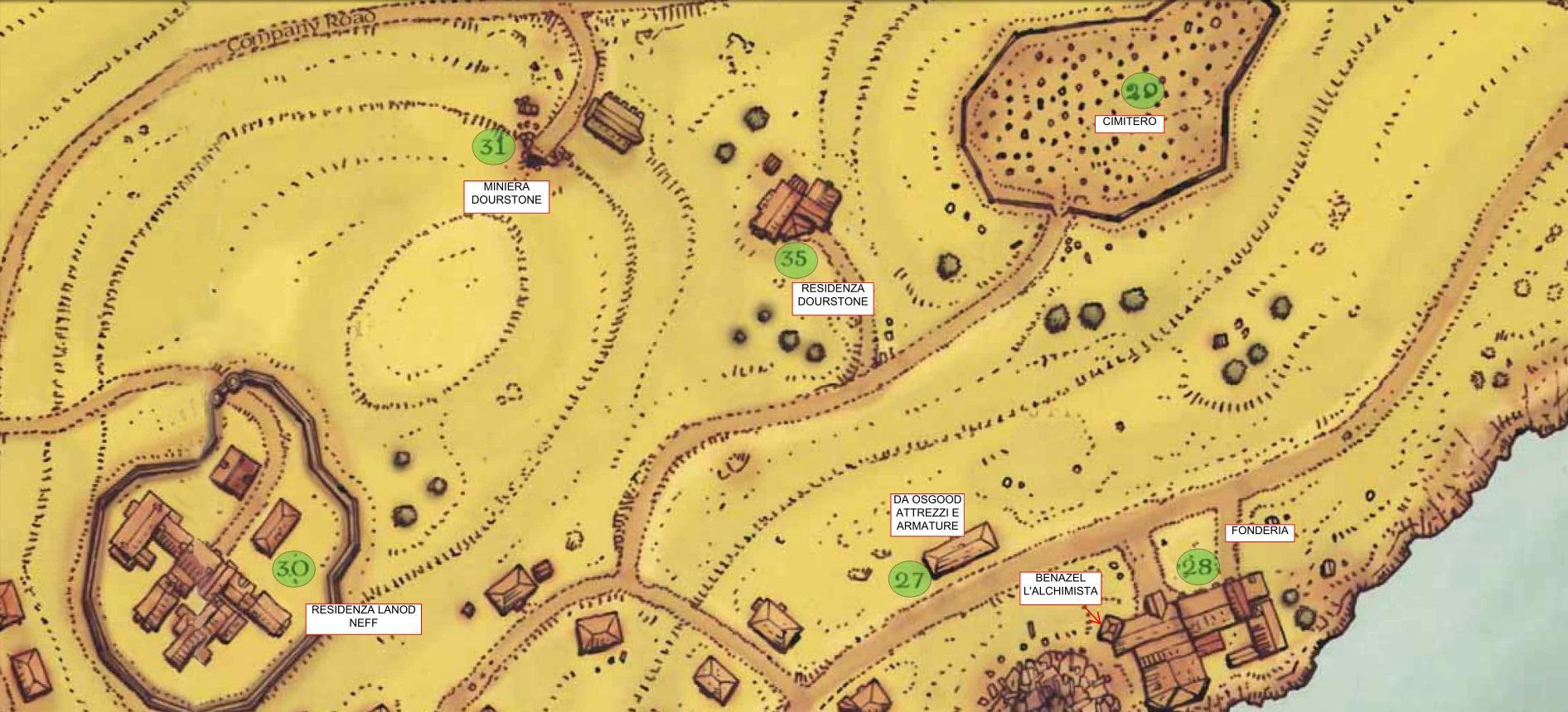 Mappa Lago Diamante