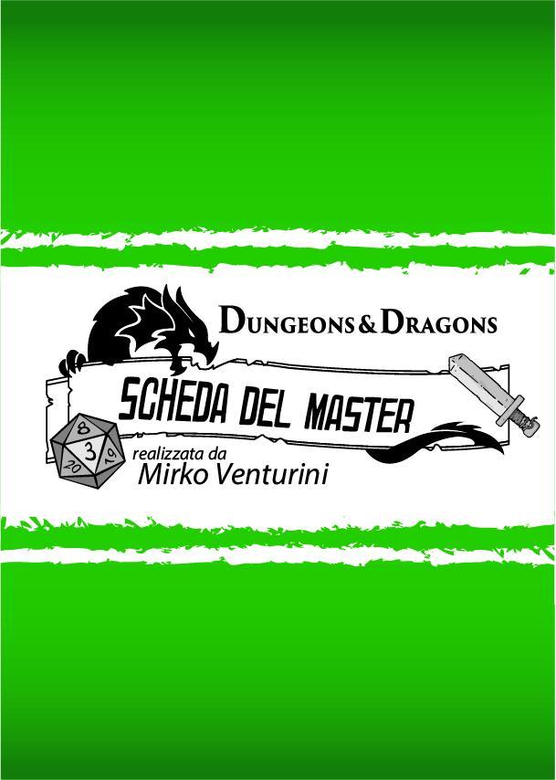 D&D 5e - Scheda del Master (Italiano)