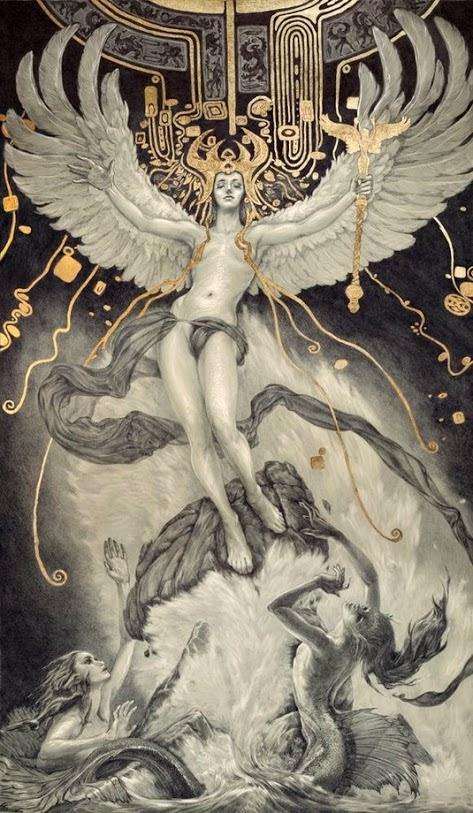 Rebecca Yanovskaya - Ascent of Man and the Destruction of Magic.jpg