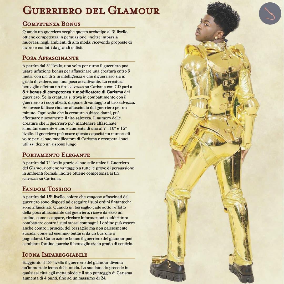 Guerriero Del Glamour
